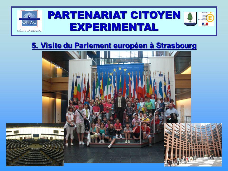 5. Visite du Parlement européen à Strasbourg