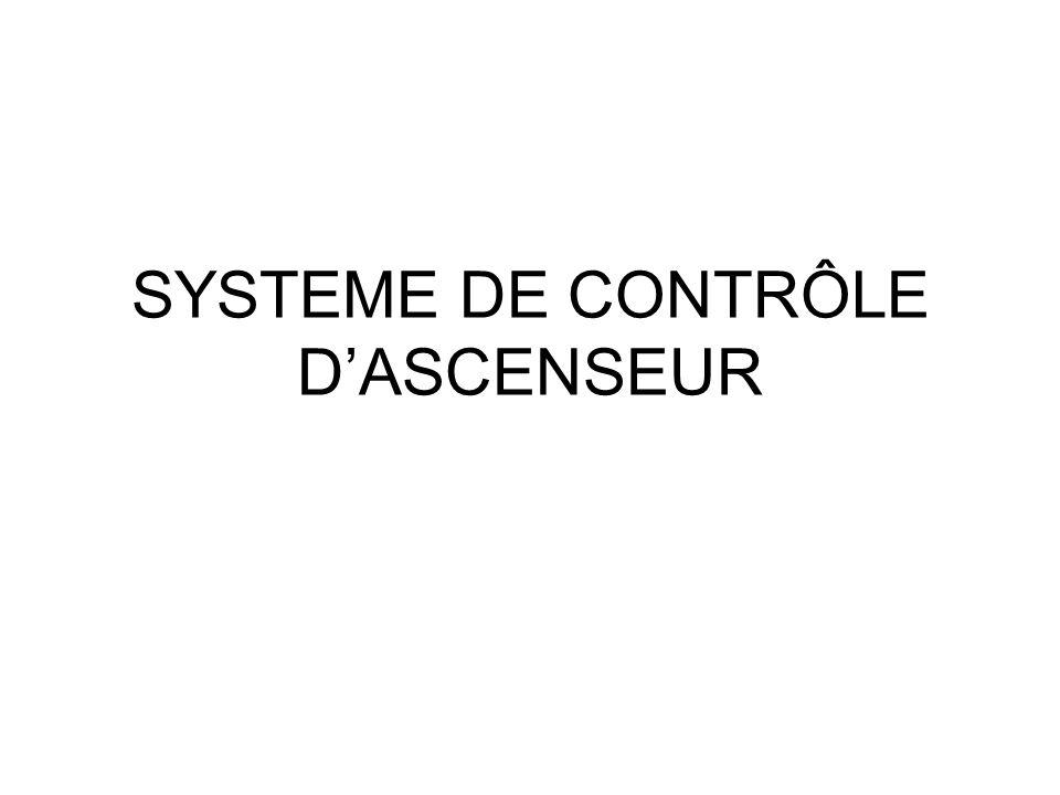 SYSTEME DE CONTRÔLE D'ASCENSEUR