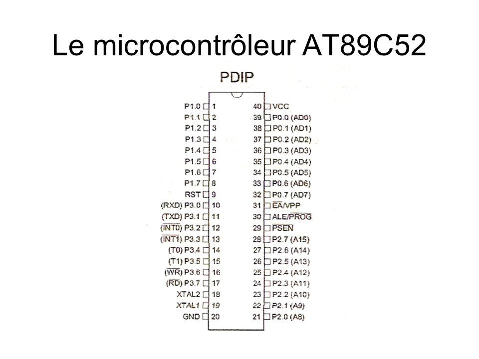 Le microcontrôleur AT89C52