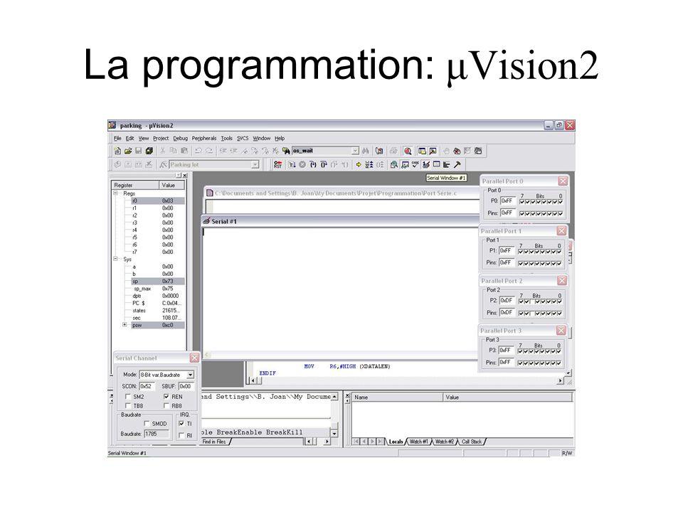 La programmation: μVision2