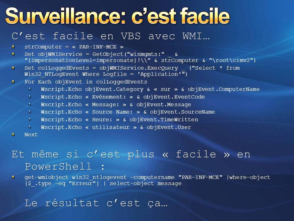 Surveillance: c'est facile