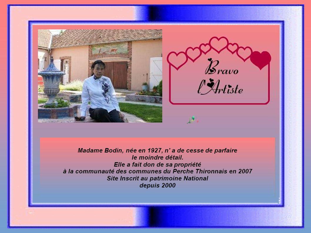 Madame Bodin, née en 1927, n a de cesse de parfaire