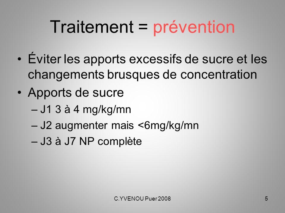 Traitement = prévention