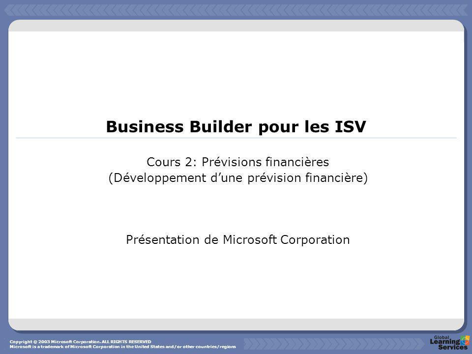 Business Builder pour les ISV