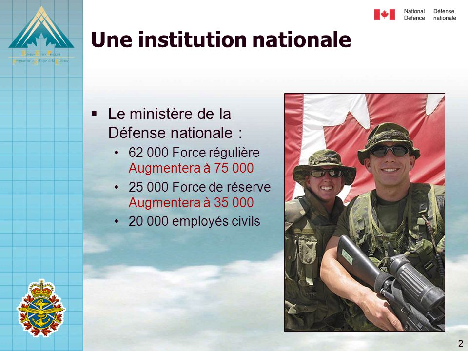 Une institution nationale