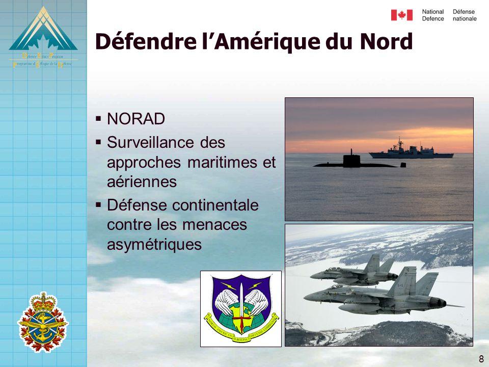 Défendre l'Amérique du Nord