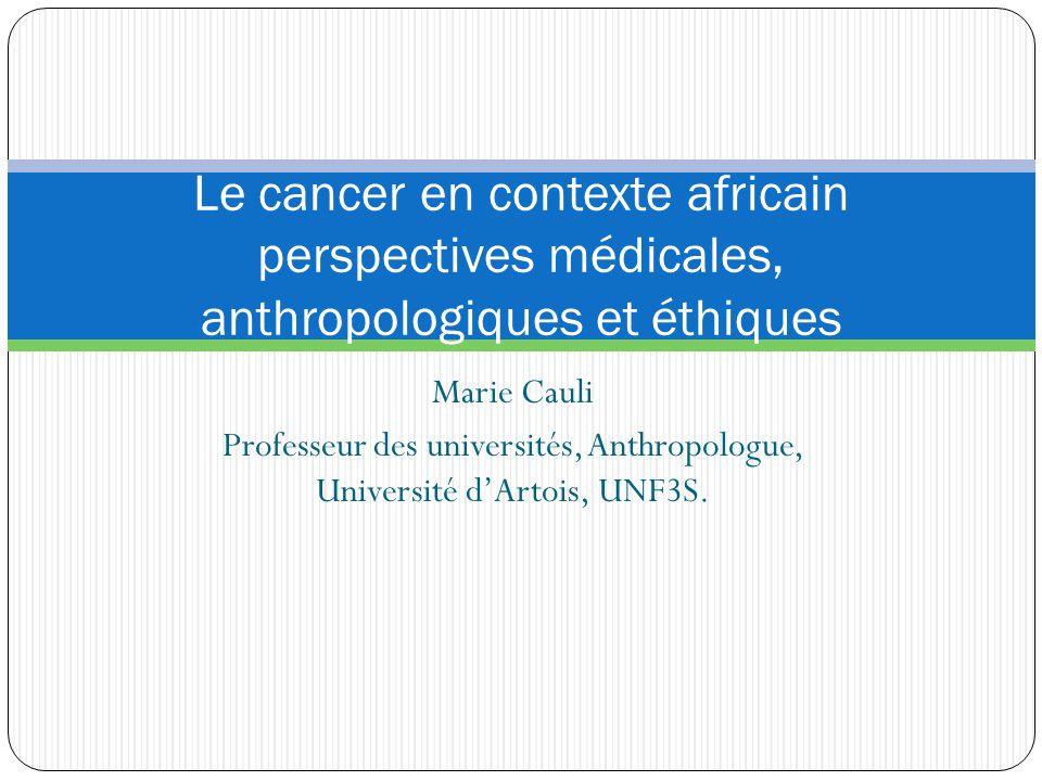 Professeur des universités, Anthropologue, Université d'Artois, UNF3S.
