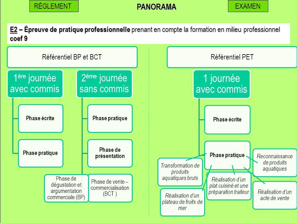PANORAMA RÉGLEMENT EXAMEN