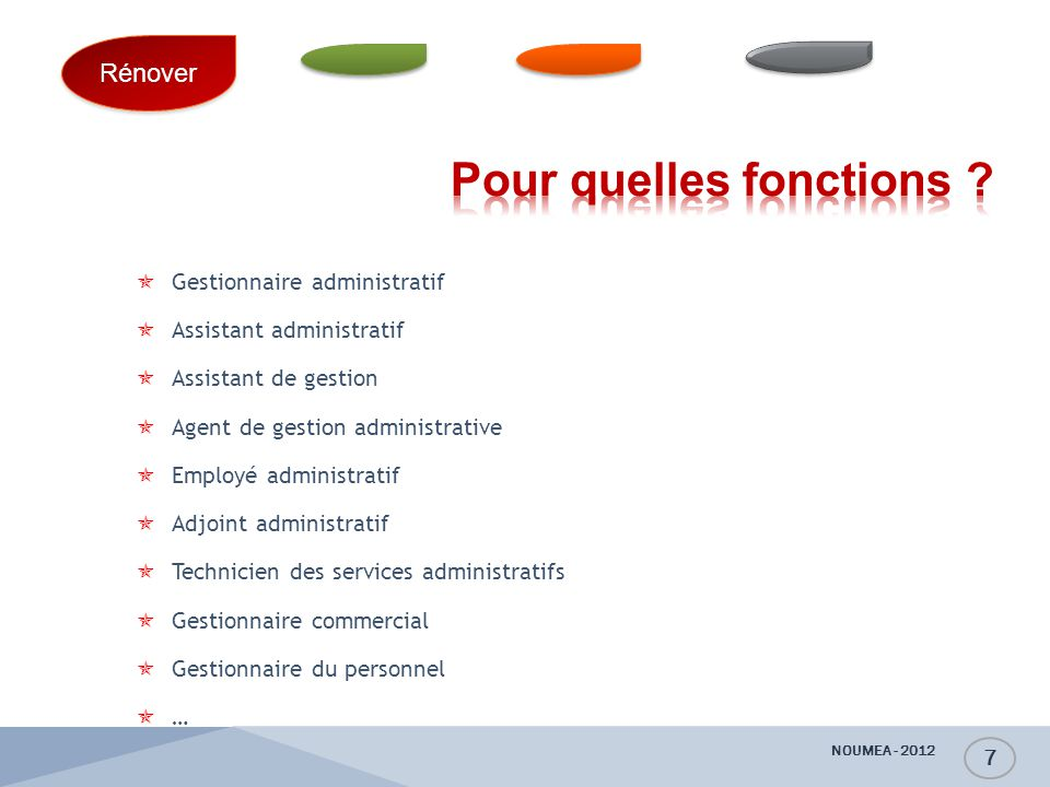 Baccalaur at professionnel gestion administration ppt - Grille indiciaire adjoint administratif education nationale ...