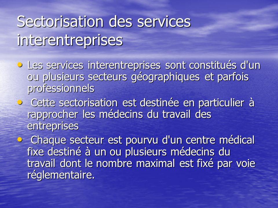 Sectorisation des services interentreprises