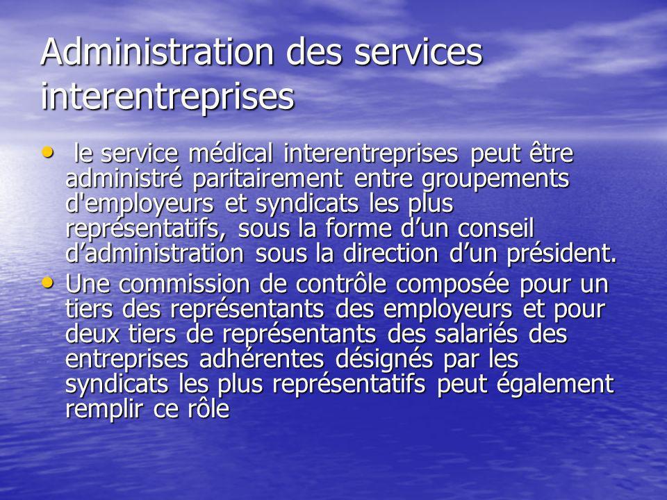 Administration des services interentreprises