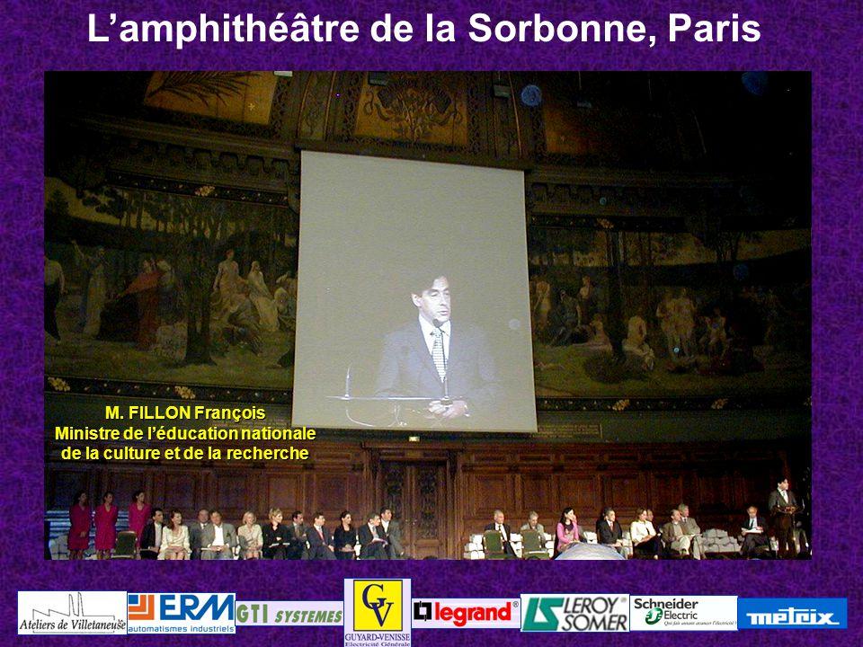 L'amphithéâtre de la Sorbonne, Paris