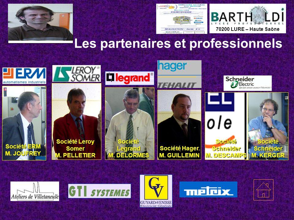 Les partenaires et professionnels