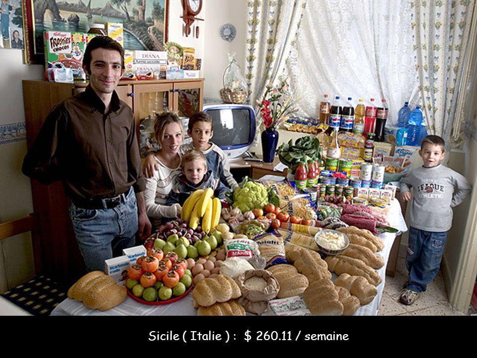 Sicile ( Italie ) : $ 260.11 / semaine