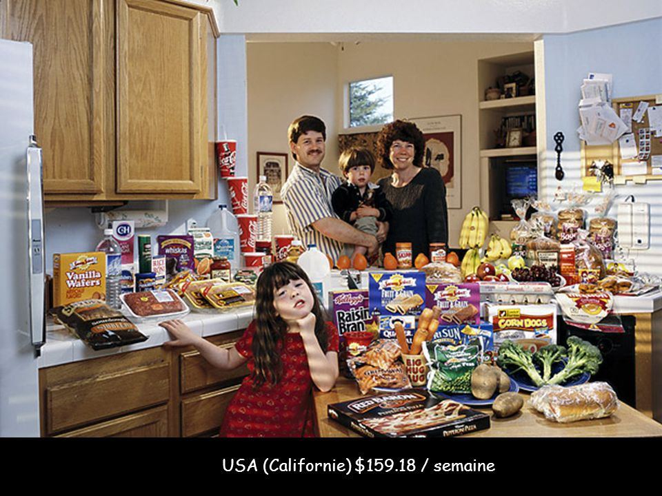 USA (Californie) $159.18 / semaine