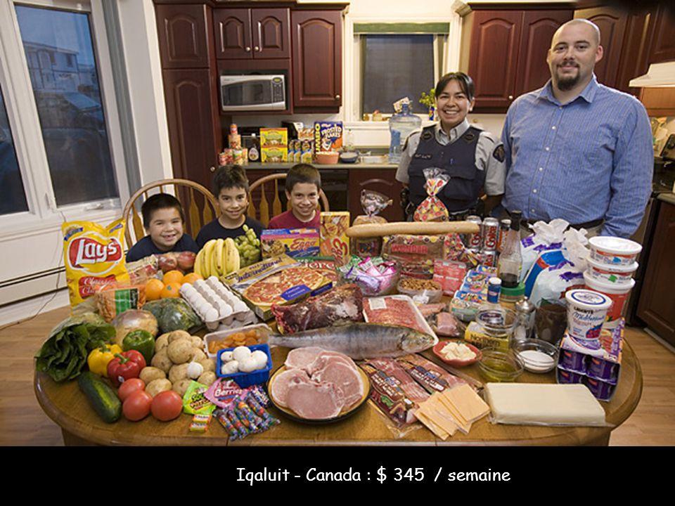Iqaluit - Canada : $ 345 / semaine