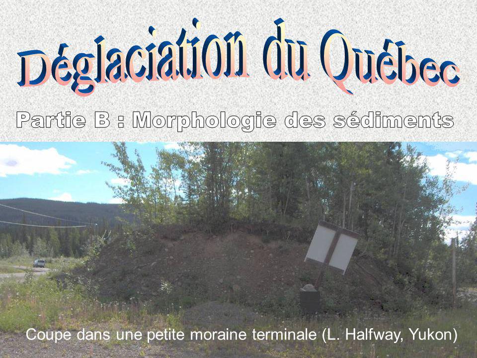 Déglaciation du Québec