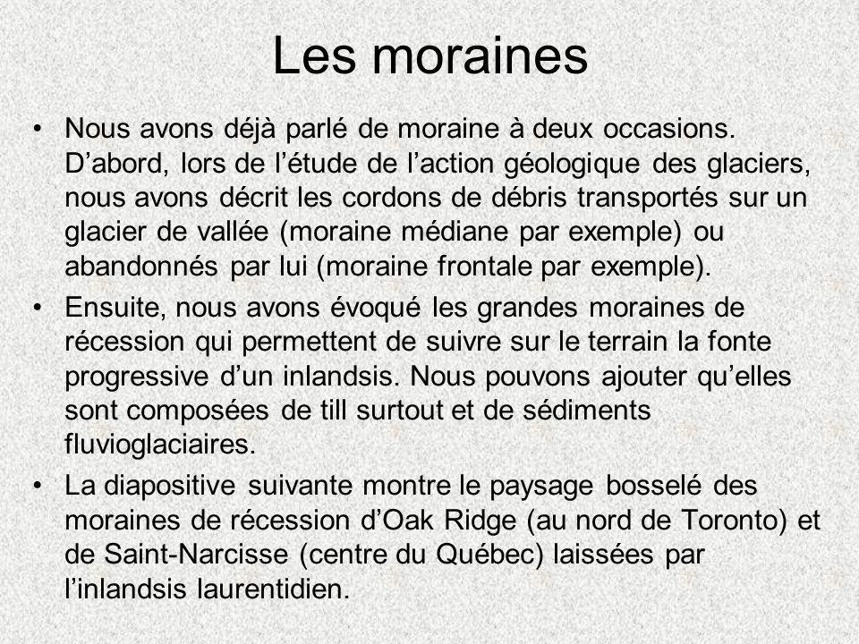 Les moraines