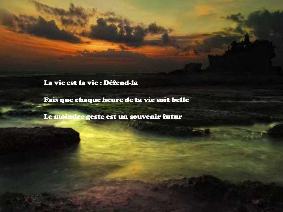 La vie est la vie : Défend-la