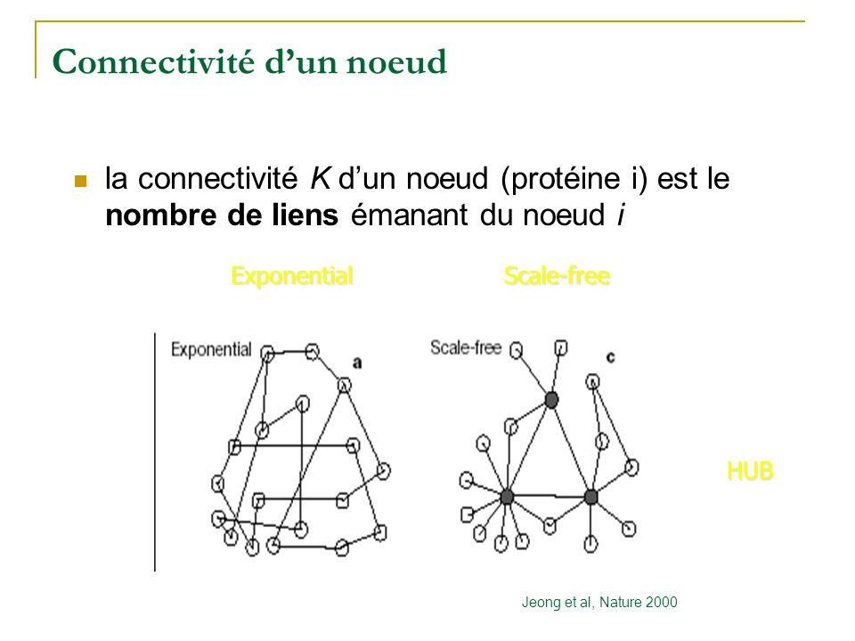 Connectivité d'un noeud