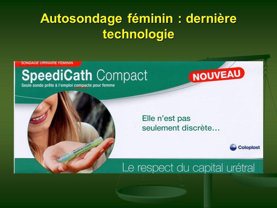 Autosondage féminin : dernière technologie