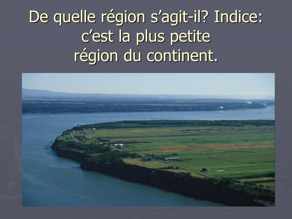 De quelle région s'agit-il