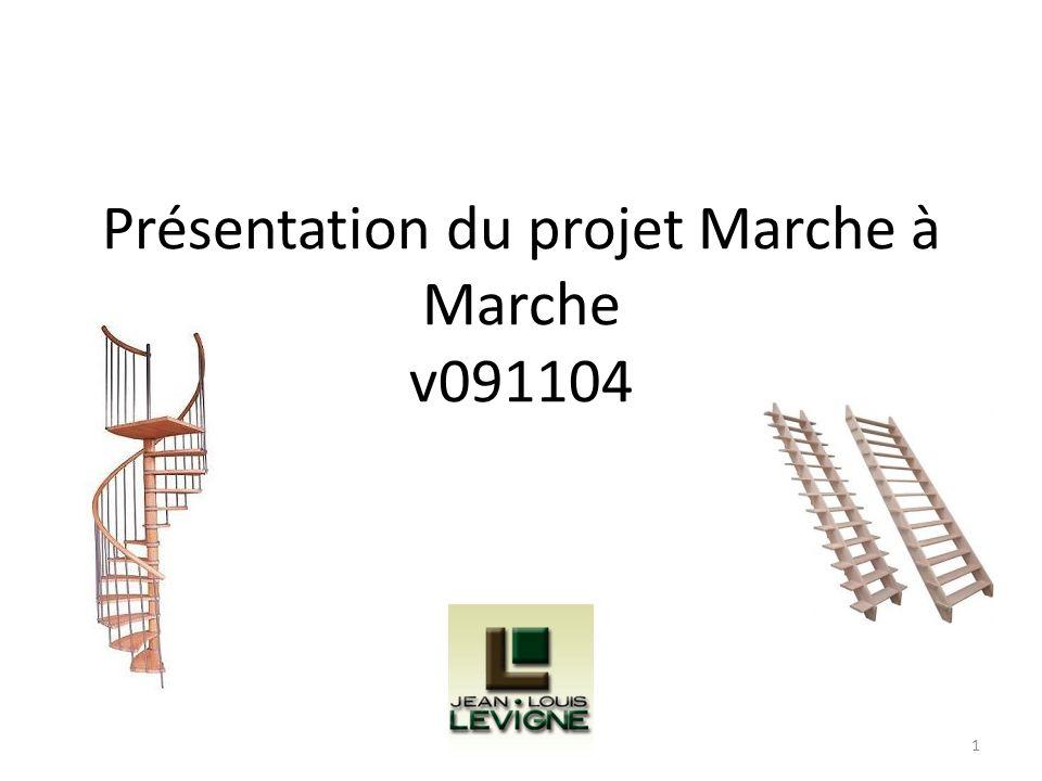 Présentation du projet Marche à Marche v091104