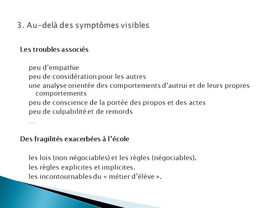 3. Au-delà des symptômes visibles