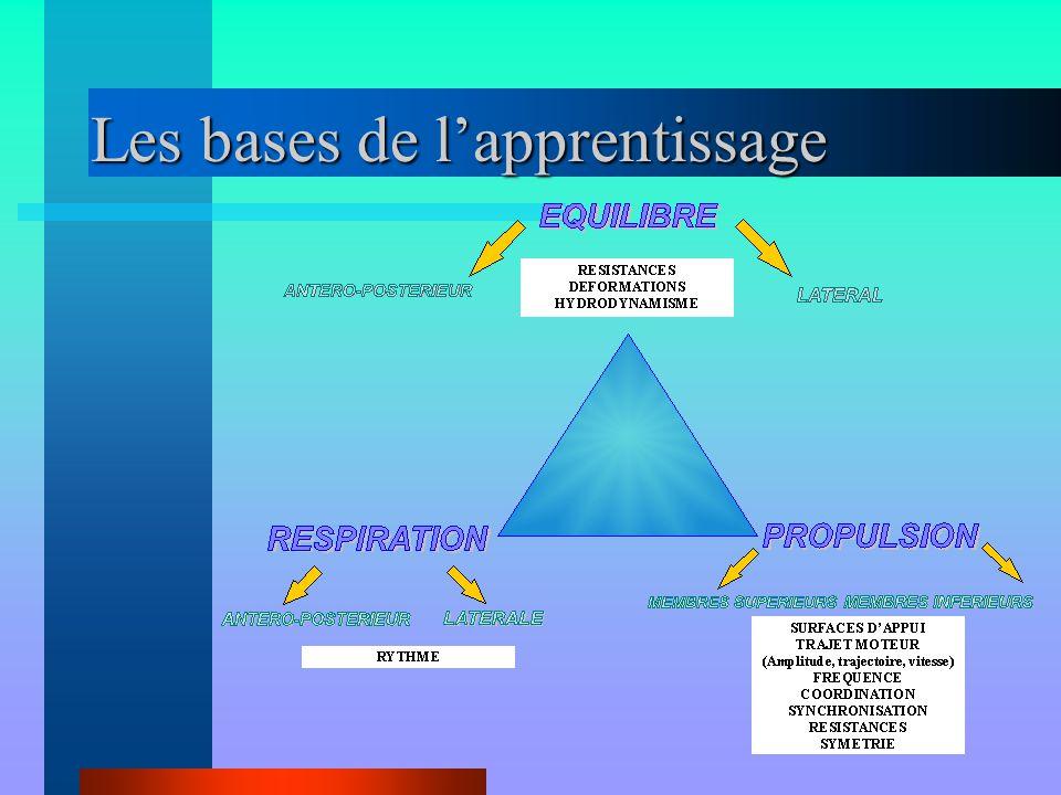 Les bases de l'apprentissage