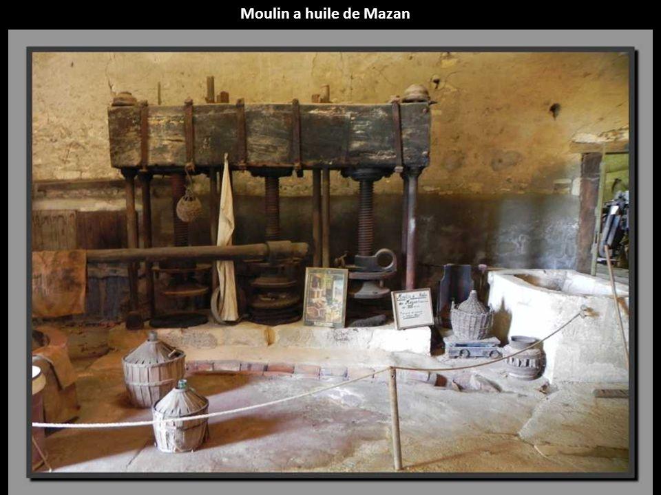 Moulin a huile de Mazan