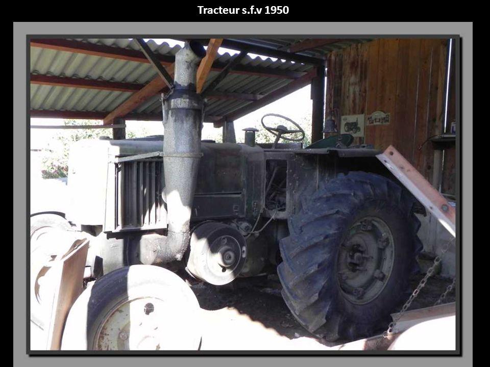Tracteur s.f.v 1950