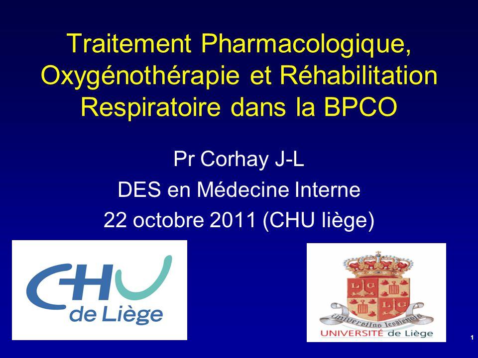 Pr Corhay J-L DES en Médecine Interne 22 octobre 2011 (CHU liège)