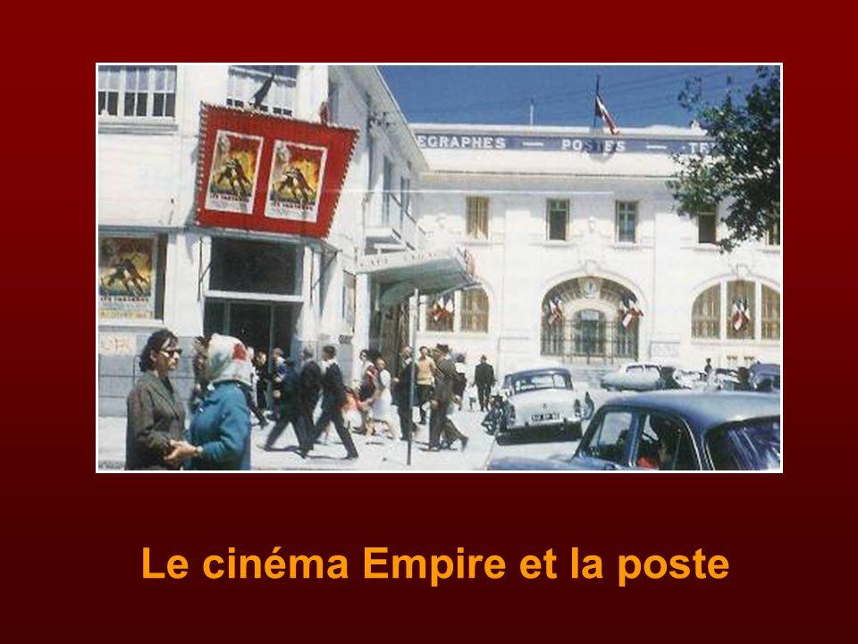 Le cinéma Empire et la poste