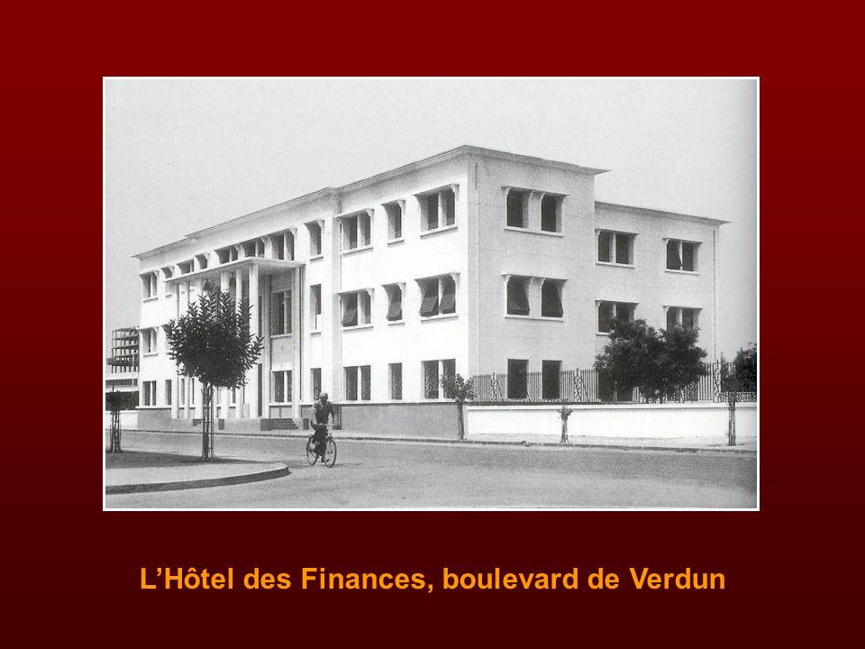 L'Hôtel des Finances, boulevard de Verdun