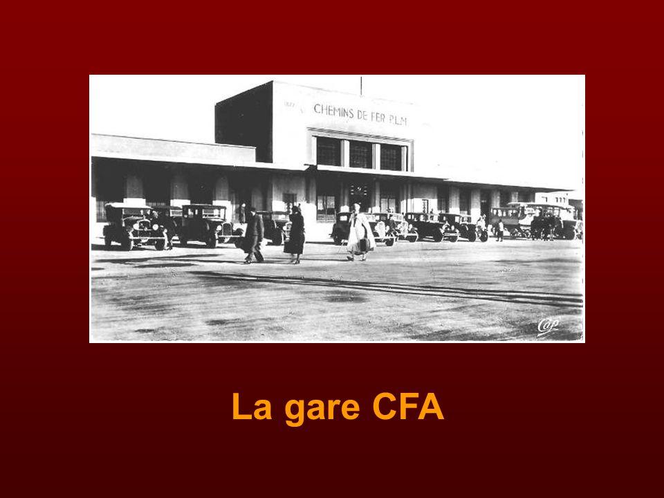 La gare CFA