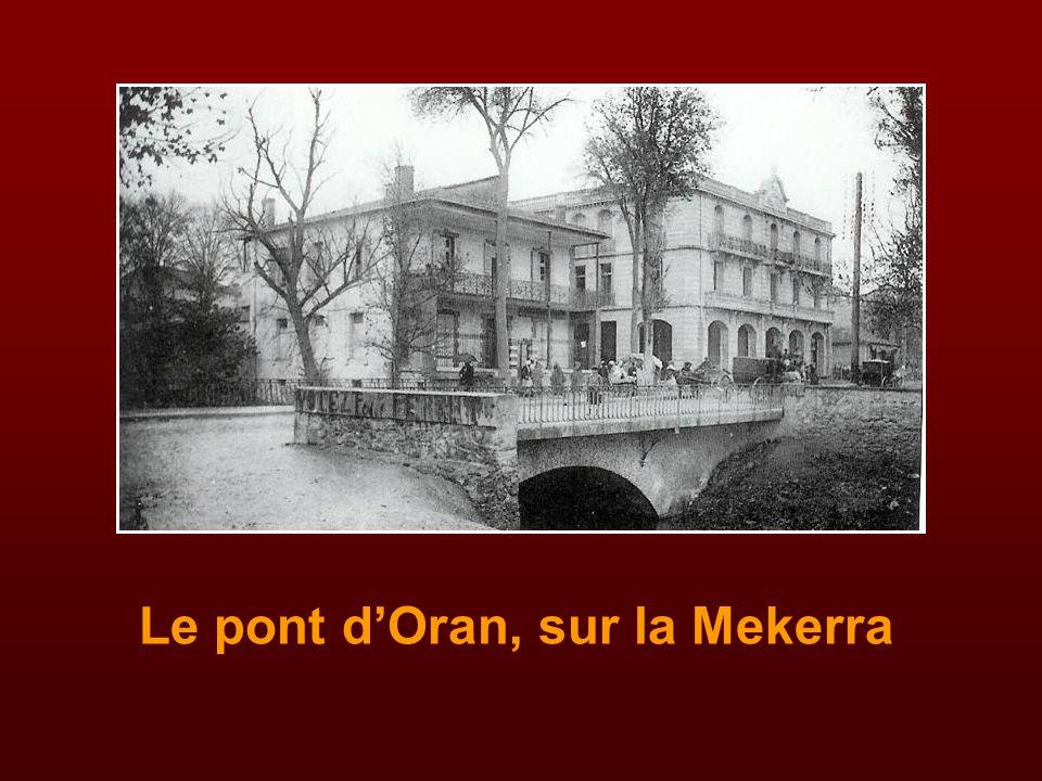 Le pont d'Oran, sur la Mekerra