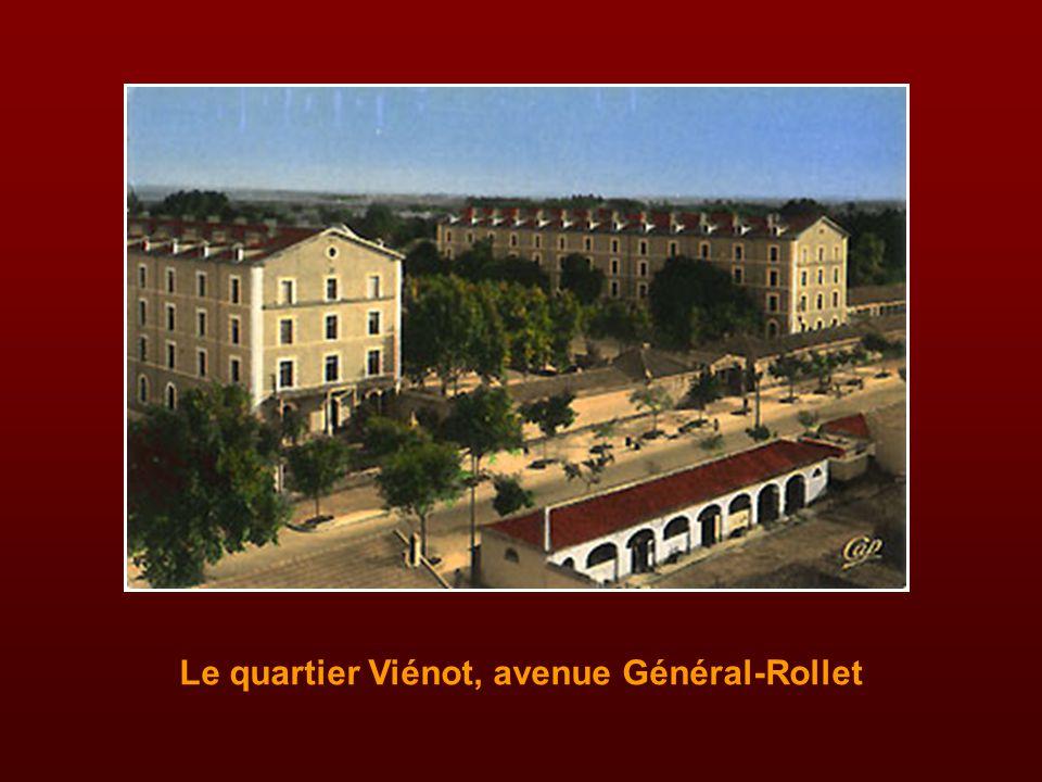 Le quartier Viénot, avenue Général-Rollet
