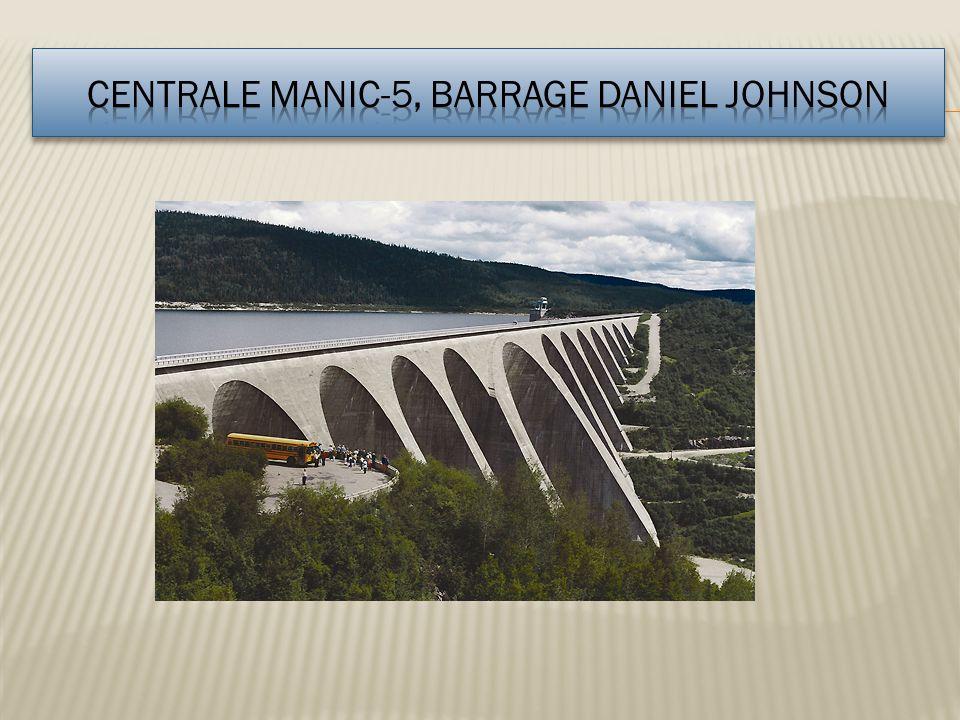 Centrale Manic-5, Barrage Daniel Johnson