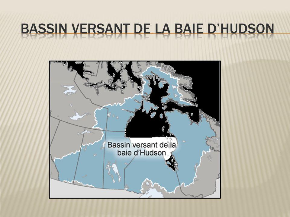 Bassin versant de la baie d'Hudson