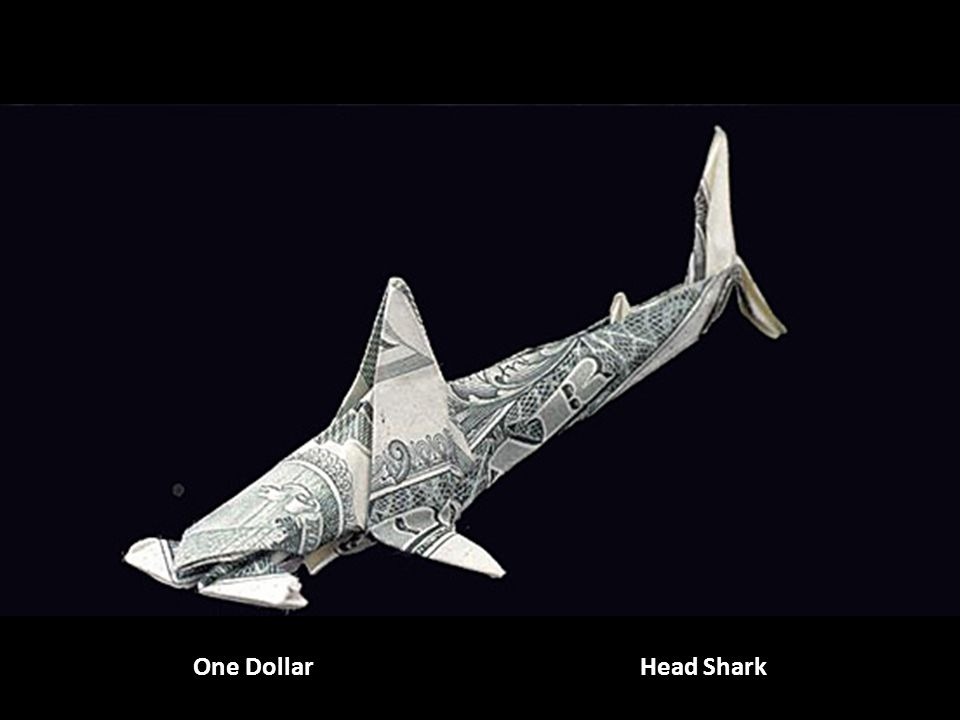 One Dollar Deux billets: requin marteau Head Shark