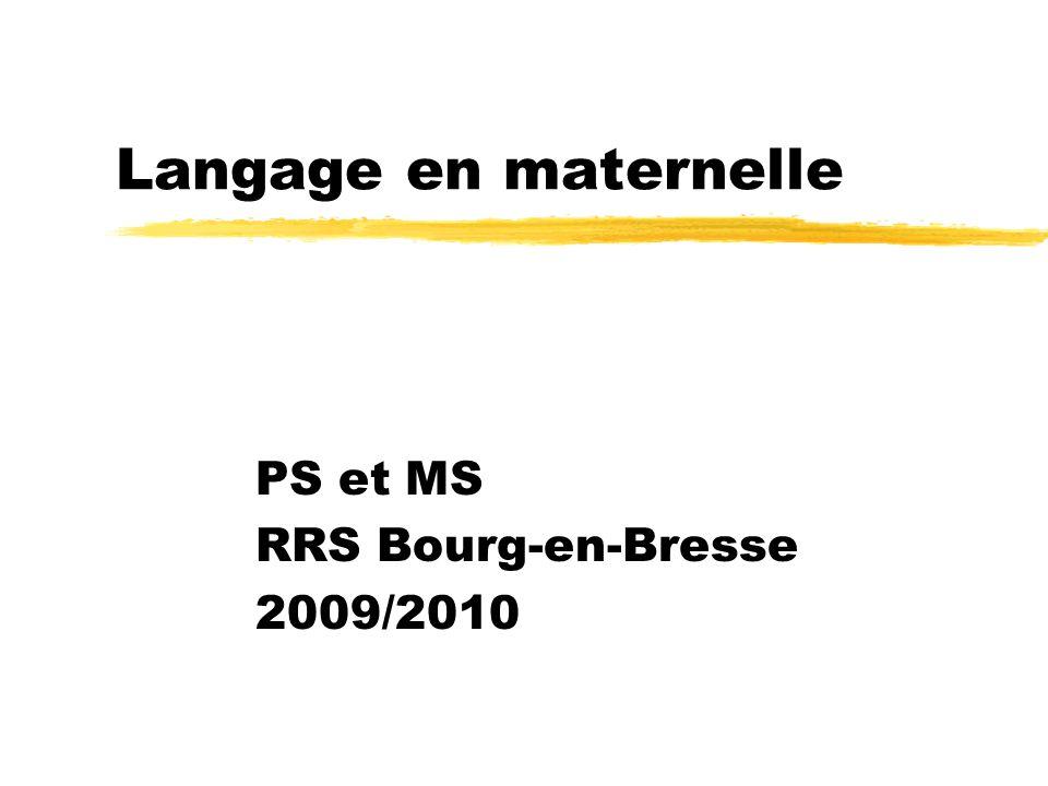 PS et MS RRS Bourg-en-Bresse 2009/2010