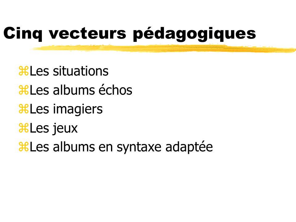 Cinq vecteurs pédagogiques