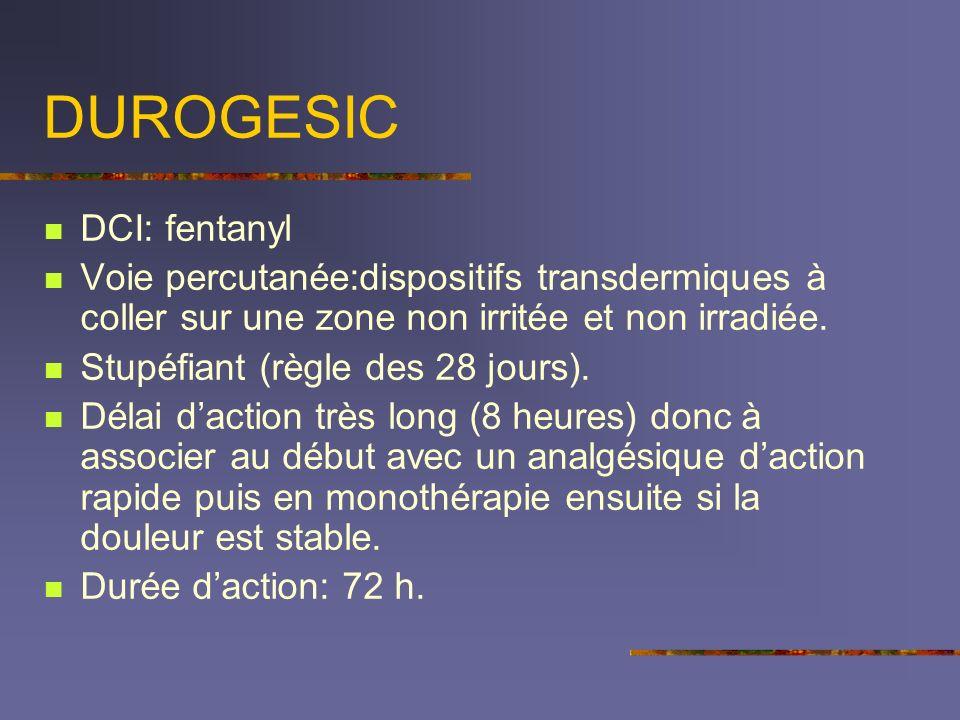 DUROGESIC DCI: fentanyl
