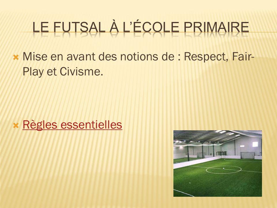 Le Futsal à l'école primaire