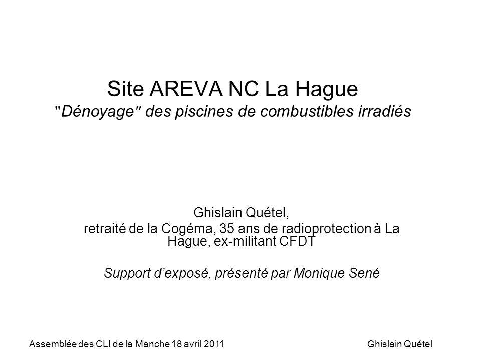 Support d'exposé, présenté par Monique Sené