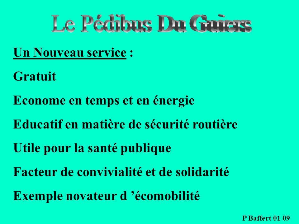 Le Pédibus Du Guiers Un Nouveau service : Gratuit