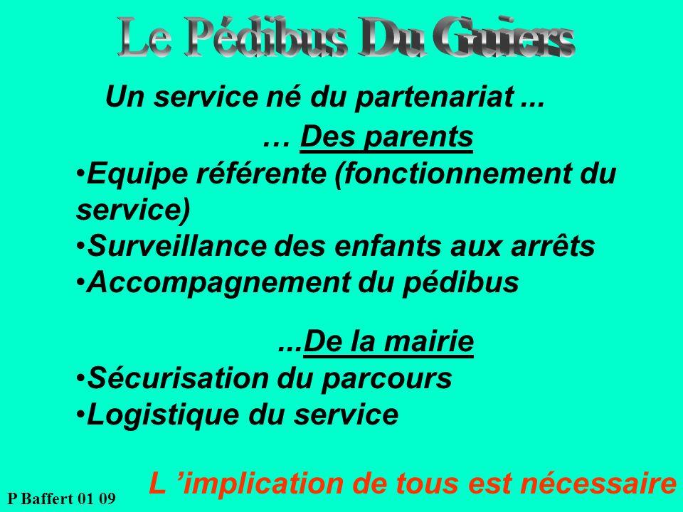 Le Pédibus Du Guiers Un service né du partenariat ... … Des parents