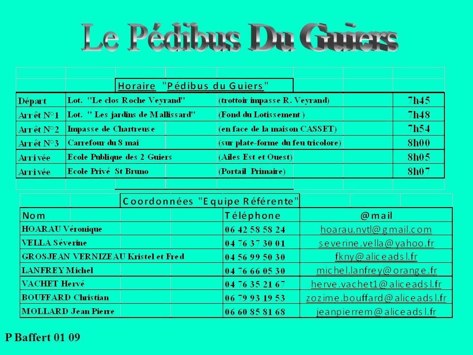 Le Pédibus Du Guiers P Baffert 01 09