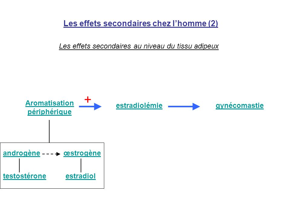 Les effets secondaires chez l'homme (2)