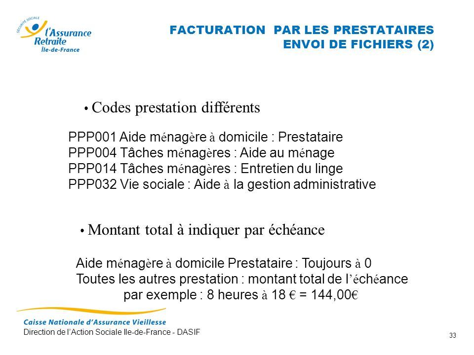 FACTURATION PAR LES PRESTATAIRES ENVOI DE FICHIERS (2)